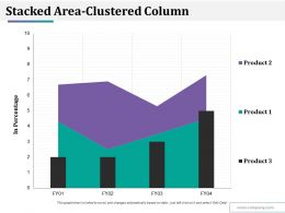 Stacked Area Clustered Column Ppt Styles Themes