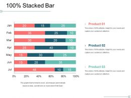Stacked Bar Powerpoint Slide Presentation Guidelines Template 1