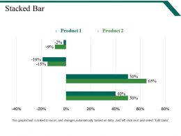 Stacked Bar Powerpoint Slides