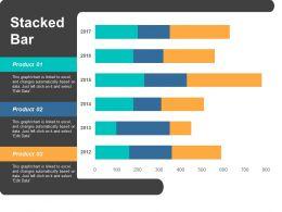 Stacked Bar Ppt Portfolio Graphics Download