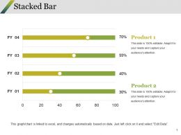 Stacked Bar Ppt Summary Deck