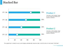 Stacked Bar Presentation Powerpoint Example