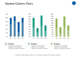 Stacked Column Chart Marketing Finance Ppt Professional Example Introduction
