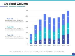 Stacked Column Finance Ppt Inspiration Example Introduction