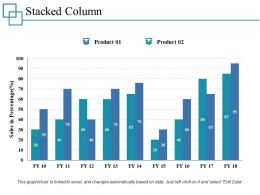 Stacked Column Ppt Professional Elements