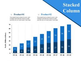 Stacked Column Ppt Styles
