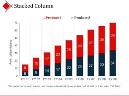 Stacked Column Presentation Layouts