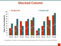 Stacked Column Sample Ppt Files