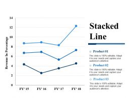 Stacked Line Powerpoint Slide Designs
