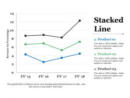 Stacked Line Ppt Slides Infographic Template