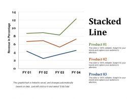 Stacked Line Presentation Portfolio