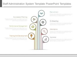 Staff Administration System Template Powerpoint Templates