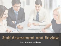 Staff Assessment And Review Powerpoint Presentation Slides