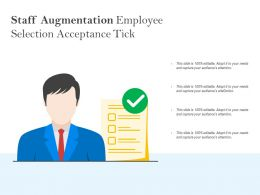 Staff Augmentation Employee Selection Acceptance Tick