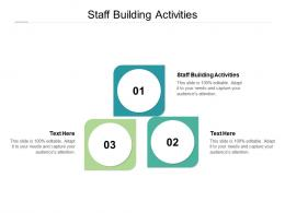 Staff Building Activities Ppt Powerpoint Presentation Professional Slides Cpb