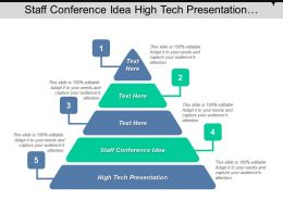 Staff Conference Idea High Tech Presentation Operational Excellence Cpb