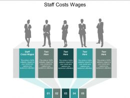 Staff Costs Wages Ppt Powerpoint Presentation Icon Graphics Design Cpb