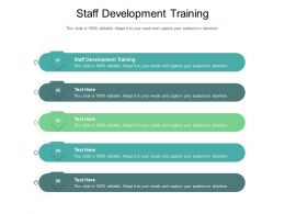 Staff Development Training Ppt Powerpoint Presentation Styles Structure Cpb
