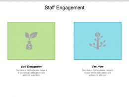 Staff Engagement Ppt Powerpoint Presentation Ideas Graphic Images Cpb