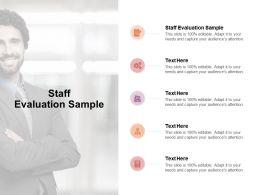 Staff Evaluation Sample Ppt Powerpoint Presentation Icon Slideshow Cpb
