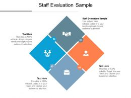 Staff Evaluation Sample Ppt Powerpoint Presentation Portfolio Microsoft Cpb