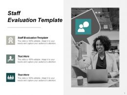 Staff Evaluation Template Ppt Powerpoint Presentation Pictures File Formats Cpb