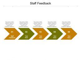 Staff Feedback Ppt Powerpoint Presentation Summary Design Templates Cpb