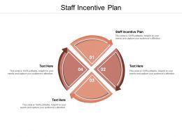 Staff Incentive Plan Ppt Powerpoint Presentation Slides Master Slide Cpb