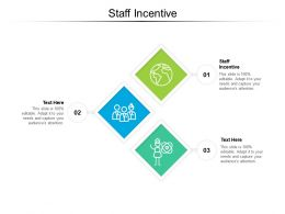 Staff Incentive Ppt Powerpoint Presentation Ideas Design Templates Cpb
