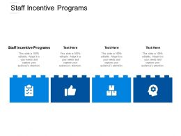 Staff Incentive Programs Ppt Powerpoint Presentation Ideas Show Cpb