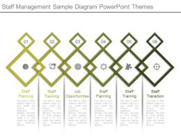 Staff Management Sample Diagram Powerpoint Themes