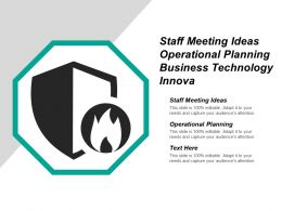 Staff Meeting Ideas Operational Planning Business Technology Innova