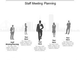 Staff Meeting Planning Ppt Powerpoint Presentation Infographic Template Gallery Cpb