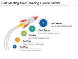 Staff Meeting Sales Training Human Capital Management Process Cpb