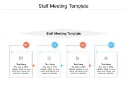 Staff Meeting Template Ppt Powerpoint Presentation Infographic Template Icon Cpb