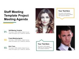Staff Meeting Template Project Meeting Agenda Work Team Cpb