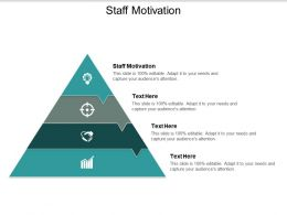 Staff Motivation Ppt Powerpoint Presentation Inspiration Professional Cpb