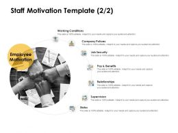 Staff Motivation Security Ppt Powerpoint Presentation Portfolio Design