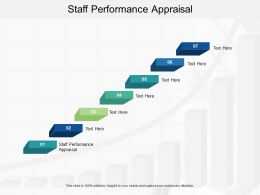 Staff Performance Appraisal Ppt Powerpoint Presentation Summary Slideshow Cpb