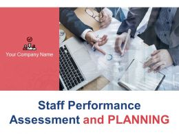 Staff Performance Assessment And Planning Powerpoint Presentation Slides