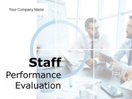 Staff Performance Evaluation Powerpoint Presentation Slides