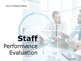 Staff Performance Evaluation Powerpoint Presentation Slides