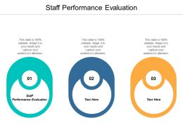 Staff Performance Evaluation Ppt Powerpoint Presentation Gallery Example File Cpb