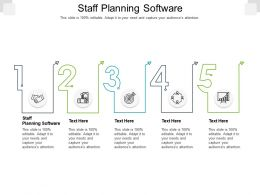Staff Planning Software Ppt Powerpoint Presentation Icon Pictures Cpb