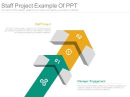 Staff Project Example Of Ppt