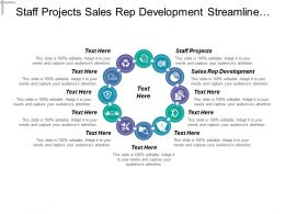 Staff Projects Sales Rep Development Streamline Financial Operations