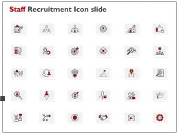 Staff Recruitment Icon Slide Ppt Powerpoint Presentation File Show