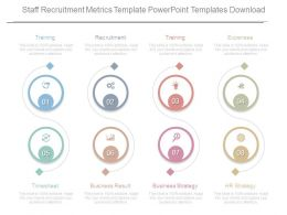 Staff Recruitment Metrics Template Powerpoint Templates Download