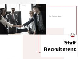 Staff Recruitment Powerpoint Presentation Slides