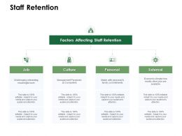Staff Retention Factors Affecting Ppt Powerpoint Presentation Styles Slide Download